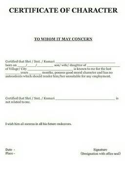 Character certificate format dolapgnetband character certificate format thecheapjerseys Image collections
