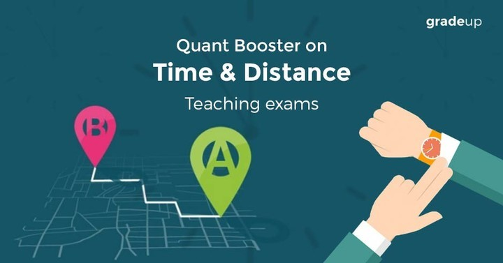 Quant Booster on Time & Distance for Teaching exams