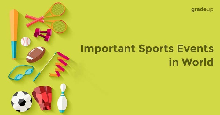 Important Sports Events in World
