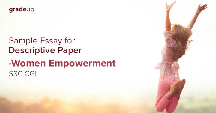 essay for ssc cgl descriptive paper women empowerment sample essay for ssc cgl descriptive paper women empowerment