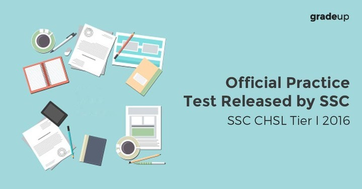 SSC CHSL Tier I 2016: Official Practice Test Released by SSC