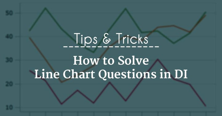 How to Solve Line Chart Questions in DI? Tips & Tricks