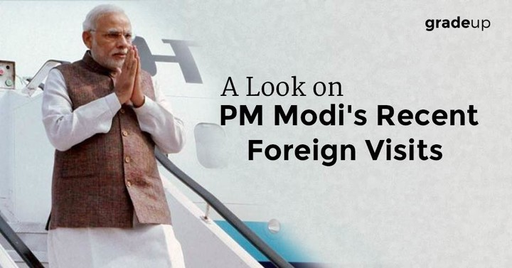A Look on PM Modi's Recent Foreign Visits