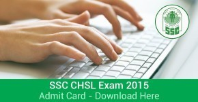 Download Admit Card for CHSL(re-exam) 2015