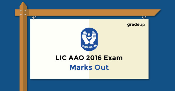 LIC AAO 2016 Exam: Marks Out