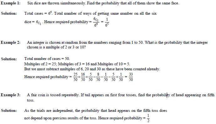 probability solution formula Few things are certain in life probability gives us an idea of the likelihood or unlikelihood of different outcomes.