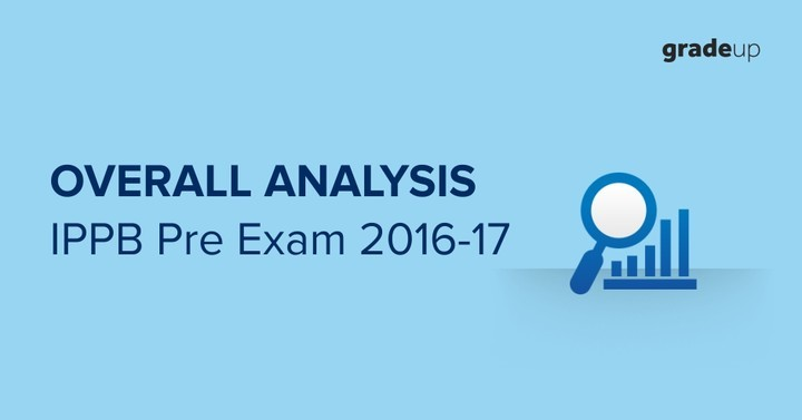 India Post Payment Bank Preliminary Exam 2016-17 Overall Analysis