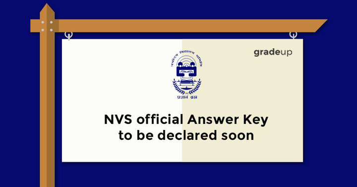 NVS official Answer Key to be declared soon