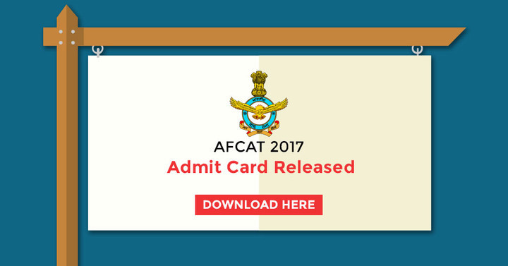 AFCAT Exam- Admit Cards Released!!