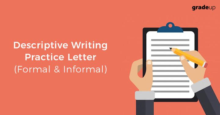 वर्णात्मक परीक्षा: पत्र लेखन