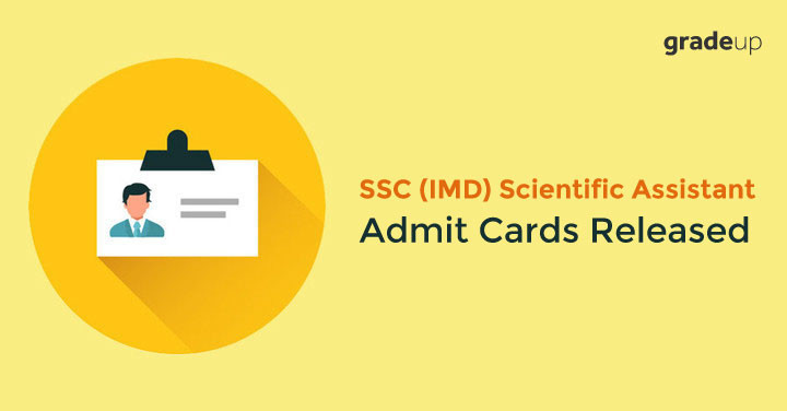 SSC Scientific Assistant Admit Card 2017 Out for IMD, Download Here!