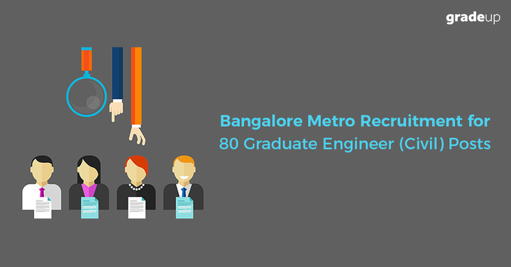 BMRCL Recruitment for 80 Graduate Engineer (Civil) Posts, Apply Now!