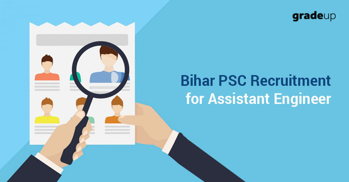 Bihar PSC Recruitment 2017 for Assistant Engineer, Apply Now for 1345 AE Posts!