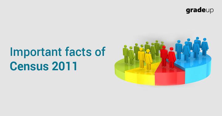 जनगणना 2011 के महत्वपूर्ण तथ्य