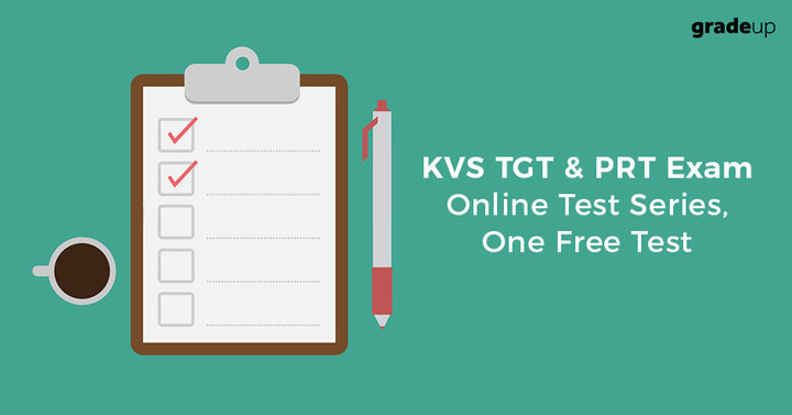 केवीएस टीजीटी और पीआरटी परीक्षा ऑनलाइन टेस्ट सीरीज़, एक फ्री टेस्ट