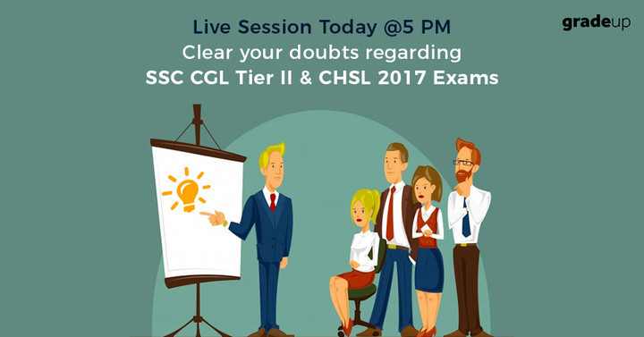 Live Session Today @5 PM - Clear your doubts regarding SSC Exams!