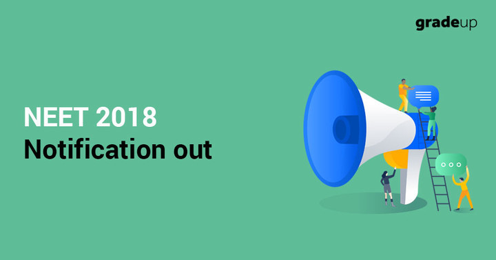 NEET Notification 2018 Out, Apply Online from 8th February!!