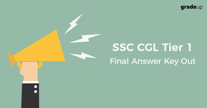 SSC CGL Tier 1 Final Answer Key 2017 Out, Check Question Paper & Answers