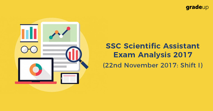SSC Scientific Assistant Exam Analysis 22.11.2017 (Shift I), Paper was Moderate!