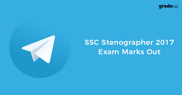SSC Stenographer 2017 Marks Out for Grade C & D, Check here!