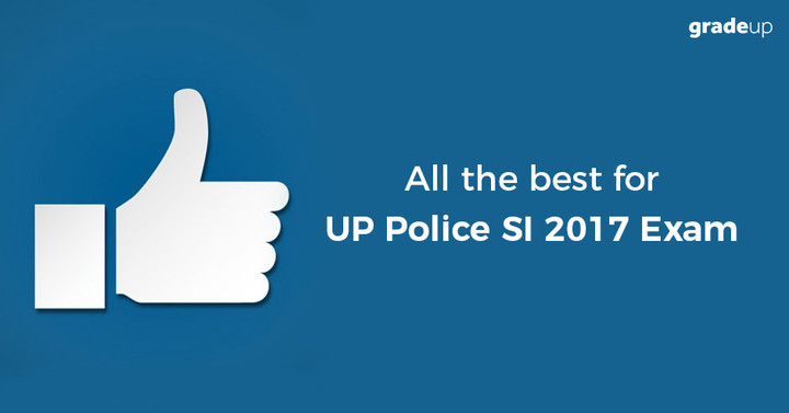 All the best for UP Police SI Exam!
