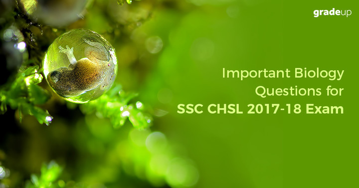 SSC CHSL Biology Expected Questions 2017 (Hindi/Eng), Download PDF!