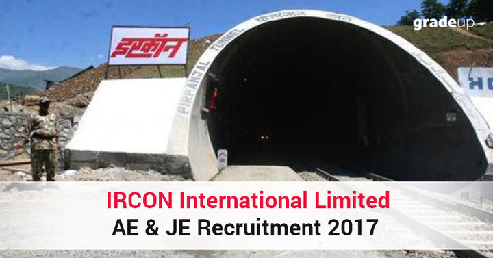IRCON International Limited AE & JE Recruitment 2017 (52 Vacancies)