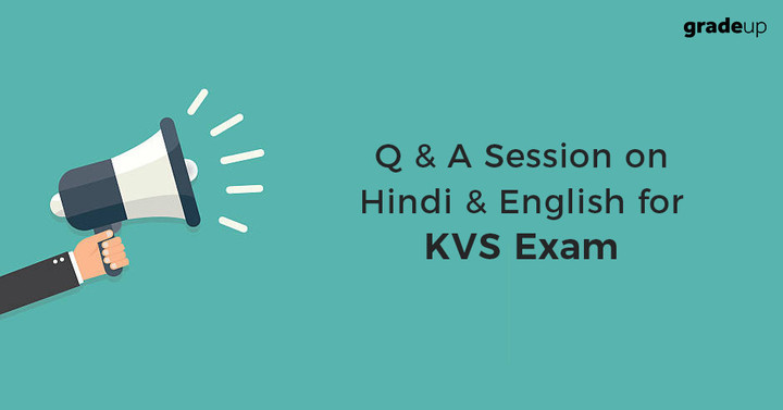 Q & A Session on Hindi & English for KVS Exam – Live Now