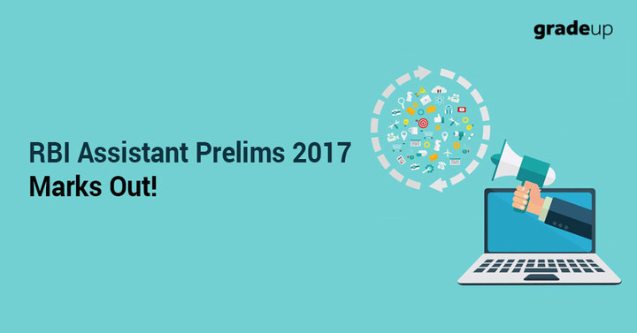 RBI Assistant Scorecard out. Check RBI Prelims 2017 marks here!