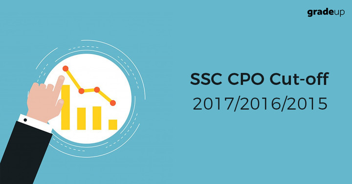 SSC CPO Cut Off 2017 (Tier 1 & 2), Check Previous year CPO Cut Off