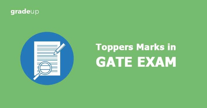 Topper Marks in GATE Exam (2015-2018)