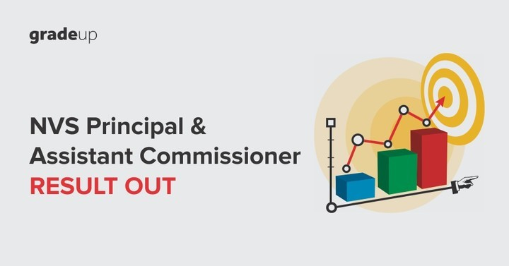 NVS Principal & Assistant Commissioner Result Out