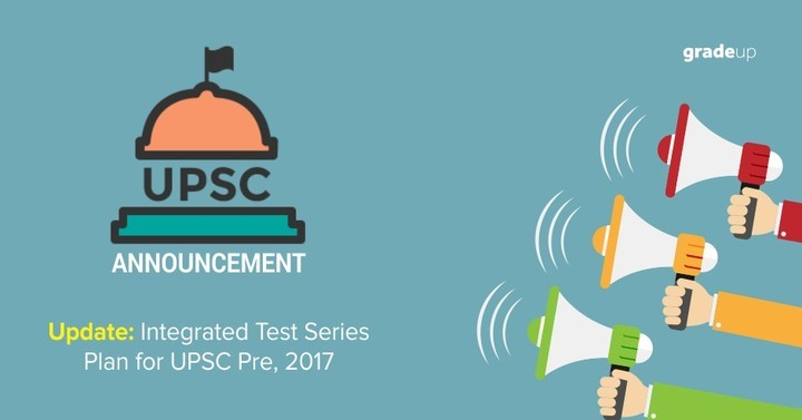 Integrated Test Series Plan: Update regarding Full Length Test 1