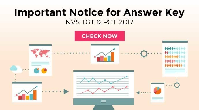 NVS TGT & PGT 20I7 Important Notice for Answer Key