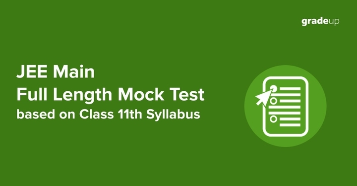 JEE Main Online Free Online Part Test (Class 11th Syllabus) - 2