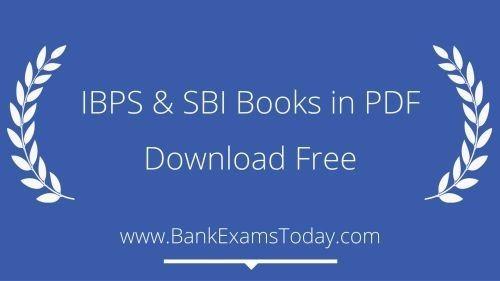 IBPS & SBI Books in PDF - Download Free