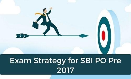 Exam Strategy For SBI PO PRE