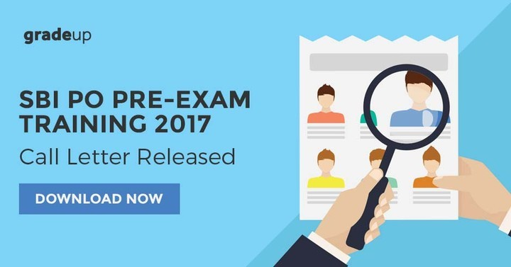 IBPS PO 2017 pre-exam training admit card is out