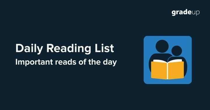 Daily Reading List, 13th May, 2017