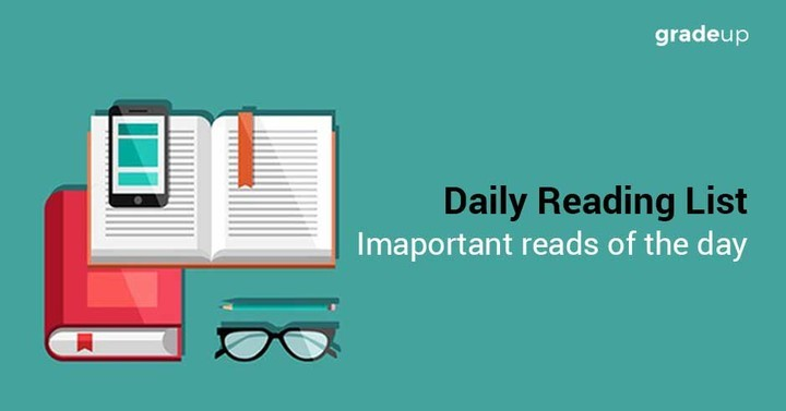 Daily Reading List, 20th May, 2017