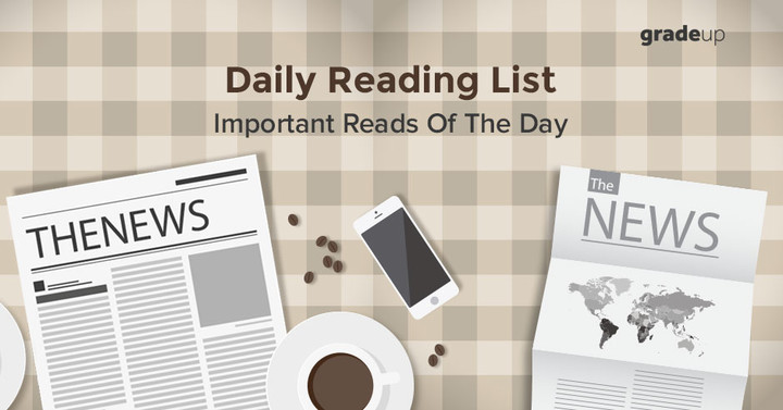 Daily Reading List: 26th June 2017