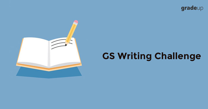 GS Writing Challenge: 31st July, 2017