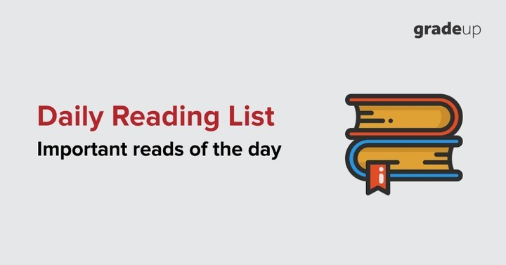 Daily Reading List: 26th July 2017