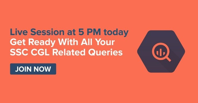 Live Session to solve your last minute queries related to SSC CGL - 5 PM today
