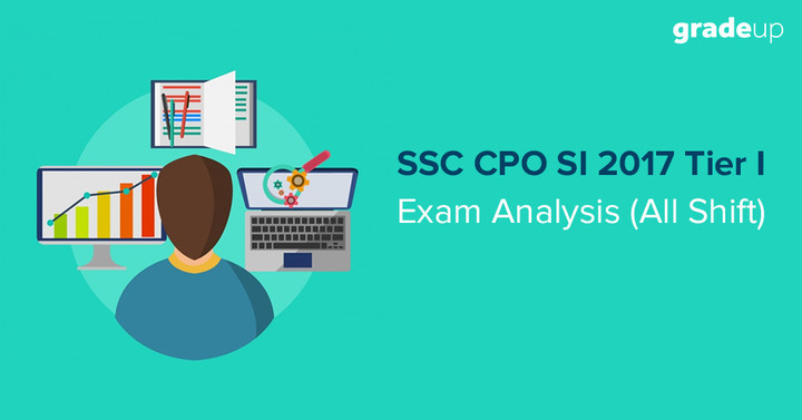 SSC CPO Exam Analysis 2017 Tier I (All Days, Shift Wise Exam Review)
