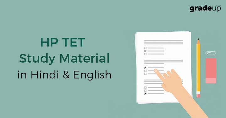 HP TET Study Material in Hindi & English