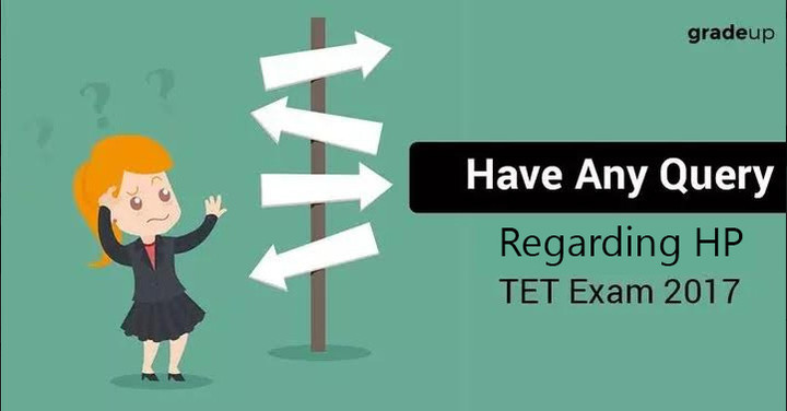 हिमाचल प्रदेश टीईटी परीक्षा 2017 के लिए संदेह समाधान सत्र