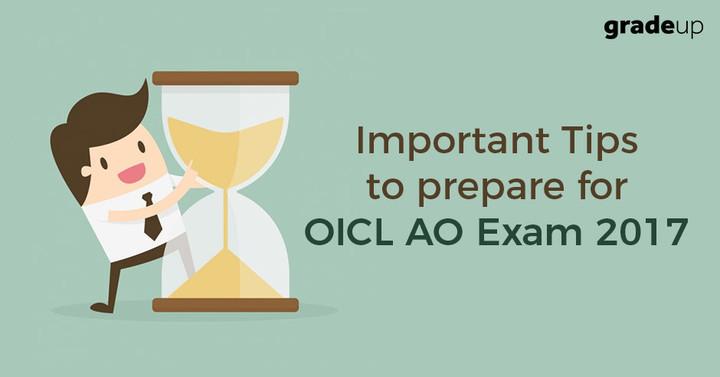 ओआईसीएल प्रशासनिक अधिकारी परीक्षा 2017 के लिए कैसे तैयारी करें ?
