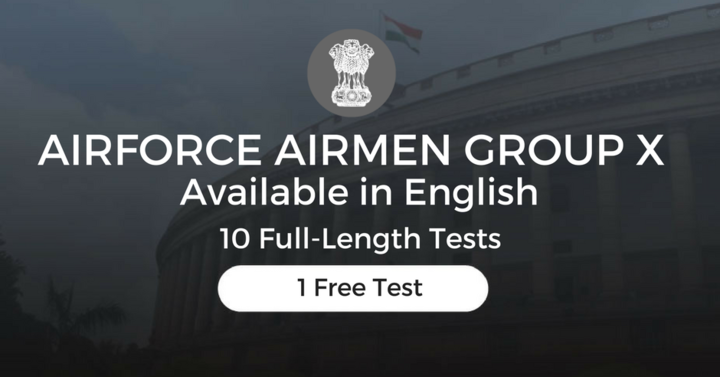 Airforce Airmen Group X & Y Test Series, One Free Test