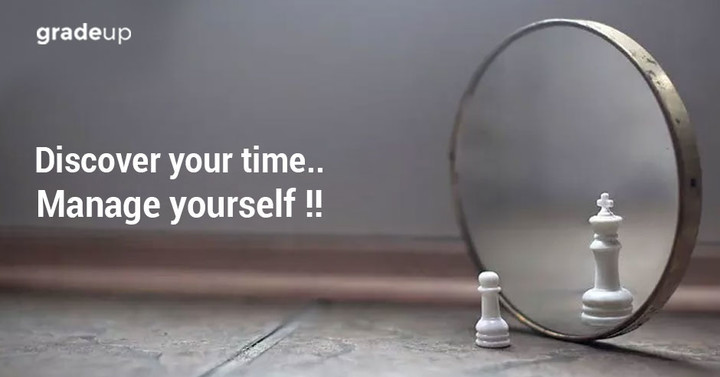 Discover your time.. Manage yourself !!